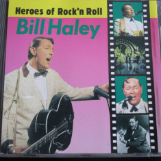Bill Haley - Heroes Of Rock'n Roll _ cd, best of _ Heroes...(Franta) - Muzica Rock & Roll Altele