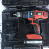 Autofiletanta BLACK&DECKER 18V - Bormasina
