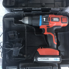 Autofiletanta BLACK&DECKER 18V