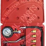 Kit tester auto compresie Benzina pentru motociclete si auto cu manometru si 6 adaptori M10-M18 - Tester diagnoza auto