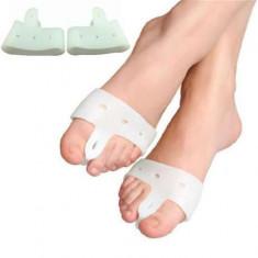Orteze silicon Separator degete orteza degete Orteza deget 2buc orteze degete
