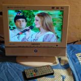 TV LCD 10 INCH+USB MEDIA STICK+DVD PLAYER+CARD SD+VGA IN+ACUMULATOR SCOTT CTX110 - Televizor LCD, Sub 48 cm, HD Ready, USB: 1, Intrare RF: 1, Scart: 1