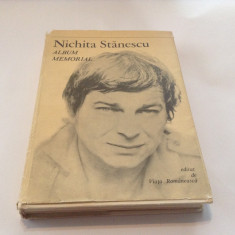NICHITA STANESCU - ALBUM MEMORIAL, M7 - Biografie