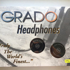 Casti Grado SR80i, Casti On Ear, Cu fir, Mufa 3, 5mm