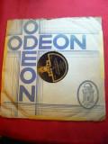 Disc Firma Odeon - Cantece Evreesti ,inscriptii ebraica , voce S.Stramer,interbe, VINIL