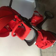 STOKKE Explory landou + scaun - Carucior copii 2 in 1 Stokke, Rosu