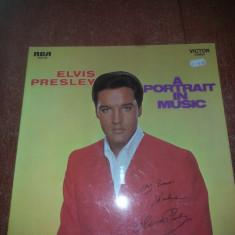 Elvis Presley-A Portrait in Music-RCA 1968 Ger vinil vinyl - Muzica Rock & Roll Altele