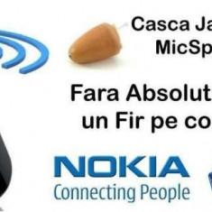 Stick Nokia+Casca Japoneza PENTRU COPIAT culoarea pielii, nedetectabila. NOU!!
