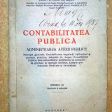 Const. G. Constantinescu - Contabilitatea publica {1937} - Carte veche