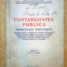 Const. G. Constantinescu - Contabilitatea publica {1937}
