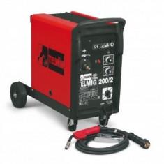 Aparat de sudura MIG-MAG, Telwin BIMAX 200/2 TURBO, profesional 230V
