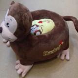 Fotoliu copii maimuta din plus