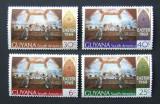 GUYANA - PICTURA PASTI, 4 VALORI NEOBLITERATE - E5772