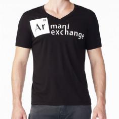 Tricou Armani PT Black masura M L - Tricou barbati, Culoare: Negru, Maneca scurta
