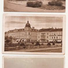 Lot cinci carti postale vechi Arad - Carte Postala Transilvania dupa 1918, Circulata, Printata