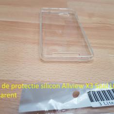 Husa de protectie silicon Allview X3 Soul Lite trasparent - Husa Telefon Allview, Transparent