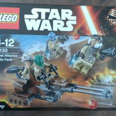 Lego Star Wars 75133 - Rebel Alliance Battle Pack - nou, sigilat in cutie, 6-10 ani