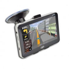 Resigilat : Sistem de navigaţie portabil PNI L559 5 inch, 128M DDR, 4GB memorie
