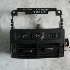 Consola centrala ventilatie spate Audi A8 An 2004-2009 cod 4E0819203A