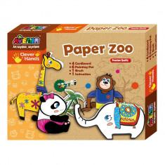 Joc creativ de colorat - Animale - Bino - Jocuri arta si creatie