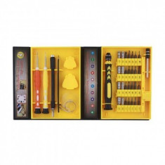 Trusa unelte pentru telefoane mobile Strend Pro BST-8920, 36 piese, cutie plastic - Surubelnita/Inbus