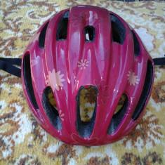 Bikefun, casca bicicleta / role copii 3 - 10 ani (48 - 52 cm) - Accesoriu Bicicleta