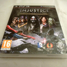 Injustice Gods among Us Ultimate Edition, PS3, original! Alte sute de jocuri! - GTA 5 PS3 Rockstar Games