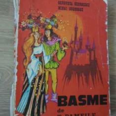 Basme (putin Uzata) - T. Pamfile, Ilustratii De Genoveva Georgescu, Miha, 396274 - Carte Basme