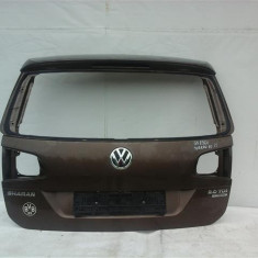 Hayon Portbagaj VW Sharan an 2010-2014, stare buna, usor lovita stg sus - Amortizor hayon
