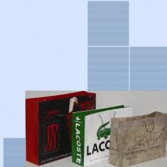 Sac de hârtie personalizate -Paperbag square bottom - punga de hartie - Saci box