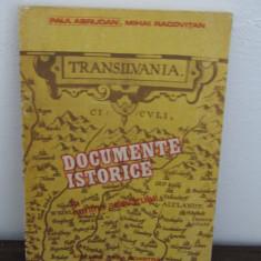 TRANSILVANIA, DOCUMENTE ISTORICE, IN LUMINA ADEVARULUI - Roman istoric