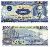 Vietnam 5.000 dong 1991 - UNC