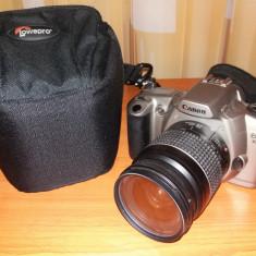 Aparat foto cu film Canon EOS 3000 N, blitz incorporat, obiectiv 28-80 mm