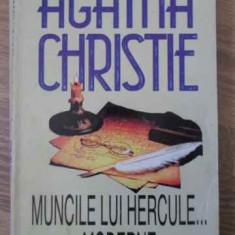 Muncile Lui Hercule...moderne - Agatha Christie, 396190 - Carte politiste