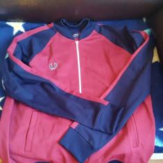 Bluza trening Fred Perry originala - Bluza barbati Fred Perry, Marime: L/XL, Culoare: Rosu