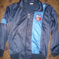 Bluza Trening cu stema veche a Echipei Steaua, masura 164 - Hanorac, Marime: XS