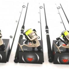 SET 3 LANSETE 2 TRONSOANE Wind Blade 3.0m, CARBON COMPOZIT, CU MULINETE LC 540 - Set pescuit