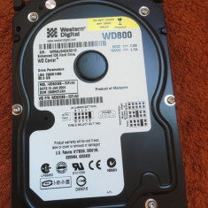 HDD PC - Hard disc Western Digital 80GB IDE - stare perfecta
