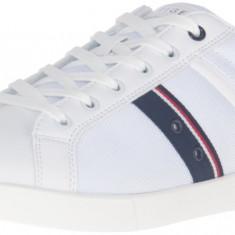 Adidasi/Pantofi sport Tommy Hilfiger Terrell masura 43 43.5 - Adidasi barbati Tommy Hilfiger, Culoare: Alb