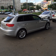 Audi a3 DSG 140hp, An Fabricatie: 2007, Motorina/Diesel, 265000 km, 20 cmc, A3 SPORTBACK
