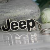 Breloc JEEP nou emblema si cutie cadou - Breloc Auto