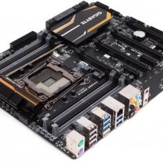 Placa de baza GIGABYTE Socket 2011, X99-UD4, Intel X99, 8*DDR4 3000(O.C.)/2800(O.C.)/2666(O.C.)/2400(O.C.)/2133, 2*PCIEx3.0/2*PCIEx1 6(max bulk, Pentru INTEL, LGA 2011/ R, ATX