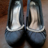 Pantofi dama - Pantof dama, Culoare: Gri, Marime: 39