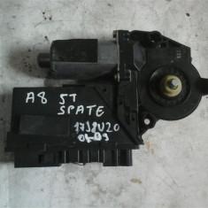 Motoras macara geam stanga spate Audi A8 An 2004-2009 cod 4E0959801A