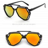 Ochelari Soare Model Unicat Unisex - POLIGON DESIGN - UV400, Protectie UV - 1, Protectie UV 100%