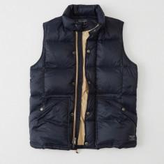 Vesta Abercombie&Fitch Down Puffer Vest masura XL