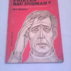 DUREREA PRIETEN SAU DUSMAN ?-GH.BADIU EDITURA MEDICALA 1986 - Carte Neurologie