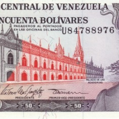 VENEZUELA 50 BOLIVARES 1998 * P 65 * UNC - Necirculata