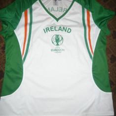 Tricou al Echipei Nationale de Fotbal a Irlandei -Euro 2016 din Franta - Tricou echipa fotbal, Marime: XL, Culoare: Alb