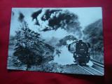 Ilustrata Locomotiva veche DDR 1980, Necirculata, Fotografie